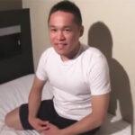 【ゲイ動画】エッチはご無沙汰な28歳のゴツいガタイのイカニモ兄貴がプリプリお尻のケツマンコをパンパンと掘られる!