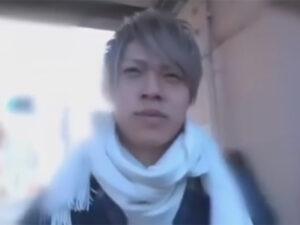【ゲイ動画】ジャニ系イケメンと駅で待ち合わせ!イケメンの家にお邪魔し部屋チェックを終えてからオナニーの撮影をする!
