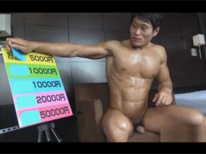 【ゲイ動画】金を稼ぎたければ身体を張れ!ゴリマッチョなノンケイケメンが射精や潮吹きや初アナルセックスで筋肉肛門をご開帳!