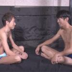 【ゲイ動画】初対面の2人が即性行為!ギコチないながらもどこにでもいそうなノンケが男のケツマンコを初体験する!