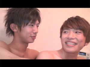 【ゲイ動画】弟がお兄ちゃんと一緒にお風呂へ…!弟から好きと告白され近親相姦にハッテンし弟のチンポでお尻を掘られるお兄ちゃん!