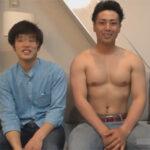 【ゲイ動画】イケメン筋肉モデルの和樹君がファンと交流!ファンの家にお邪魔してケツをガンガンに掘られまくる!