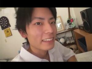 【ゲイ動画】最近彼女が出来たというノンケイケメン男子校生を家庭教師の先生がつまみ食い!教え子にチンポをしゃぶらせ手コキでイカせ合う!