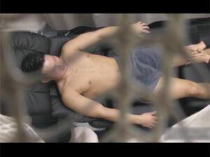 【ゲイ動画】男性向けメンズエステの店舗内を盗撮!若いイケメンのお客様がアナルを解されチンポを挿れられ手コキでヌカれてしまう!