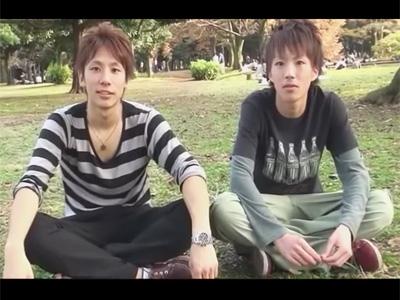 【ゲイ動画】可愛くてカッコいいイケメン初対面な2人が意気投合!若くてピチピチな男の子がセクシーな絡みのBLセックスを見せつける!